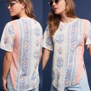 Anthropologie | Postmark Delilah boho tee shirt